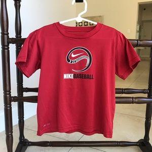 Nike dri-fit red T-shirt shirt
